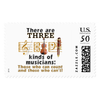 3 kinds of musicians postage