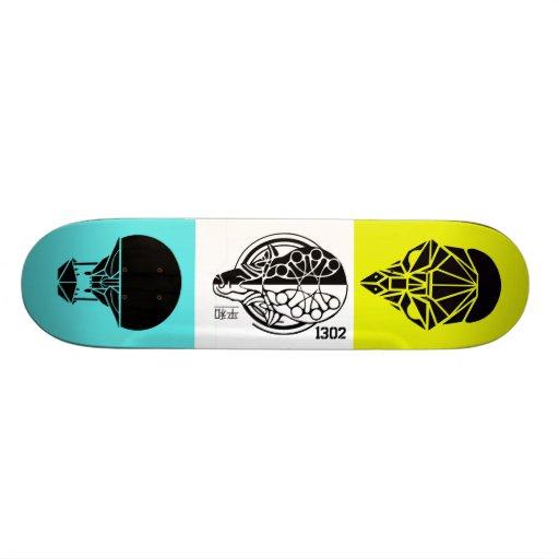 3-Kings Skateboard Deck
