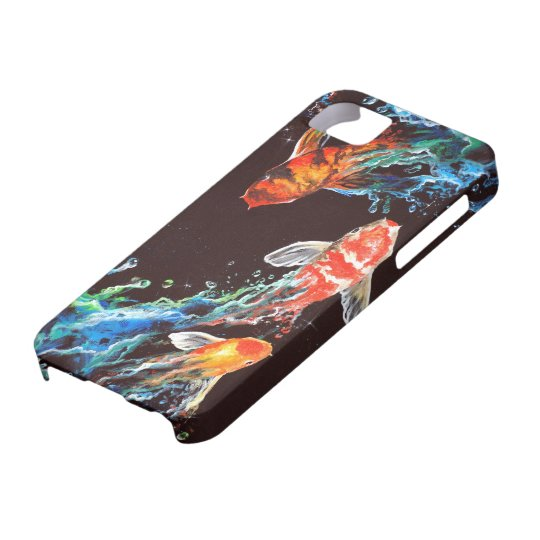 3 koi iPhone SE/5/5s case