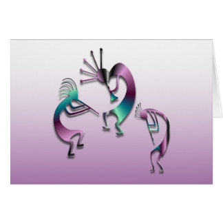 3 Kokopelli 107 Card