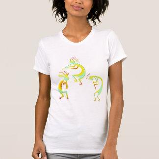 3 Kokopelli #10 Tee Shirts