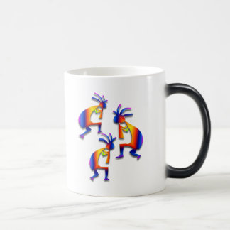 3 Kokopelli #19 Magic Mug