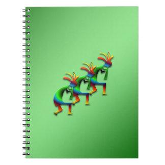 3 Kokopelli #29 Notebook