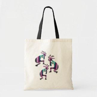 3 Kokopelli #32 Canvas Bag