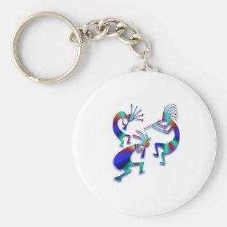3 Kokopelli #35 Keychain
