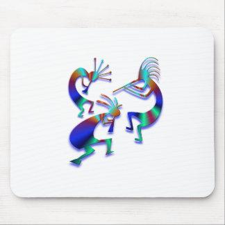 3 Kokopelli #35 Mouse Pad
