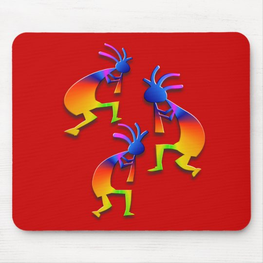 3 Kokopelli #58 Mouse Pad