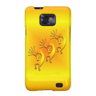 3 Kokopelli 89 Galaxy S2 Cases
