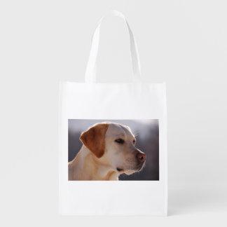 3 Labrador_Retriever.png Grocery Bag