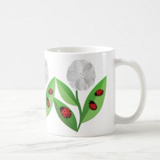 3 Ladybugs Classic White Coffee Mug