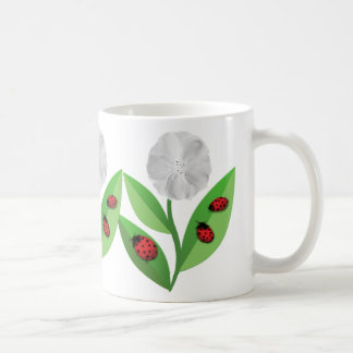 3 Ladybugs Coffee Mug