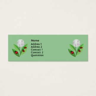 3 Ladybugs Mini Business Card