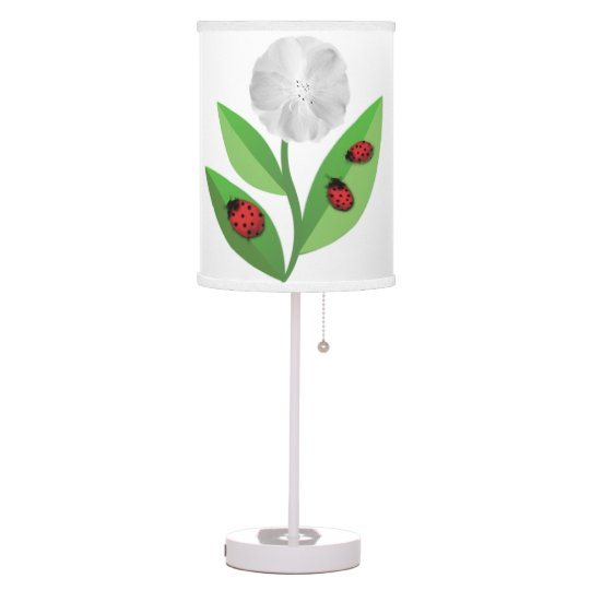 3 Ladybugs Table Lamp