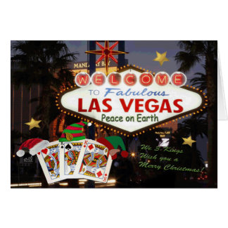 3 Las Vegas Kings Merry Christmas Card