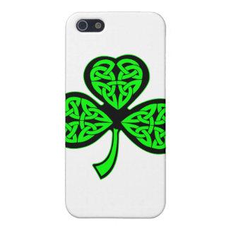 3 Leaf Celtic Shamrock Cover For iPhone SE/5/5s