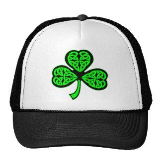 3 Leaf Celtic Shamrock Hats