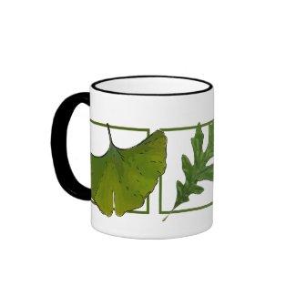 3 leaves mug