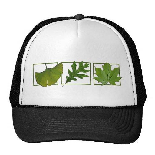 3 leaves trucker hat