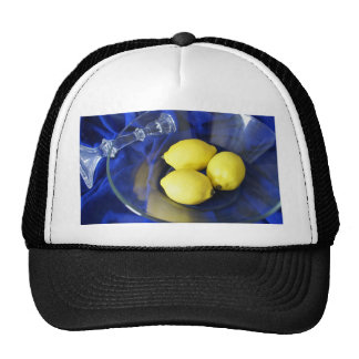 3 Lemons And Candlestick Mesh Hat