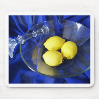 3 Lemons And Candlestick Mouse Pad