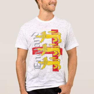 3-Lions & St George's Cross  (Vintage) T-Shirt