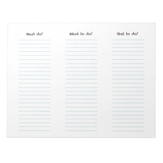3 List Notepad