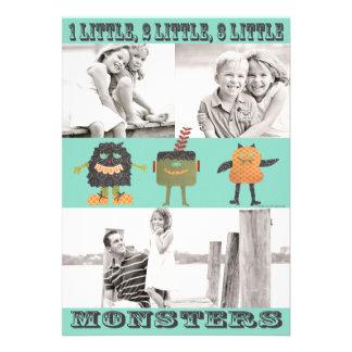 3 Little Monsters Halloween Card-TBO