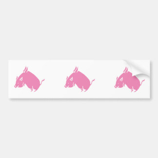 3 Little Pigs fly bumber sticker