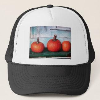 3 little pumpkins trucker hat