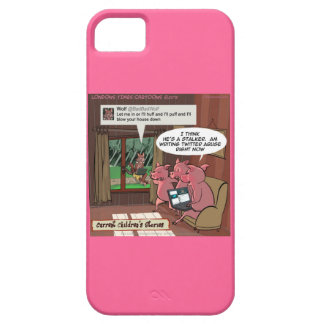 3 Little Social Media Savvy Pigs iPhone 5/5S Case