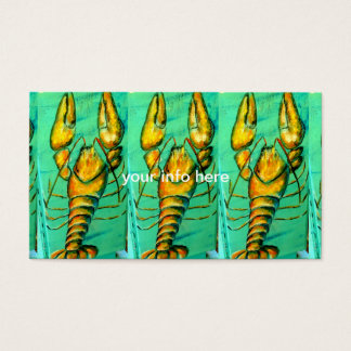 3 lobsters business card
