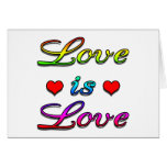 <3 Love is Love <3 Greeting Cards