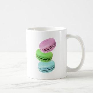 3 macarons coffee mug