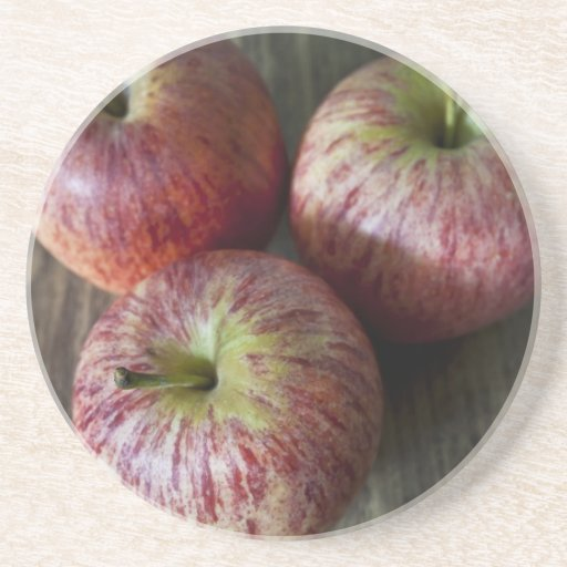 3 manzanas posavasos diseño