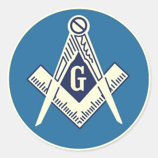 """3"""" Masonic Sticker"""