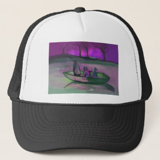 3 MEN IN A BOAT TRUCKER HAT