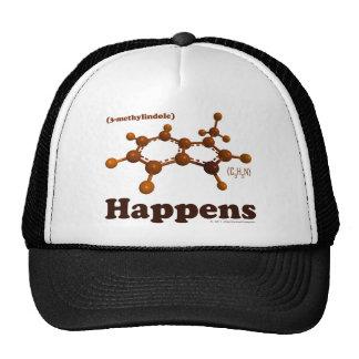 3-Methylindole sucede gorra