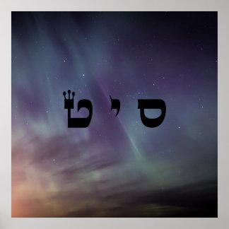 3 Miracle Making - 72 Names of God Poster