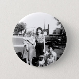 3 Moms Pinback Button