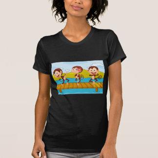 3 monkeys t shirt