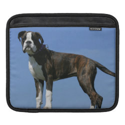 iPad Sleeve with Boxer Phone Cases design