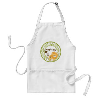 3 Months Animal Safari Milestone Adult Apron