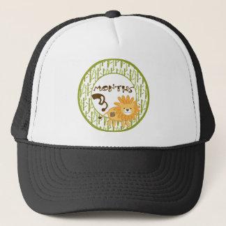 3 Months Animal Safari Milestone Trucker Hat