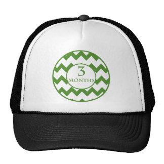 3 Months Chevron Milestone Trucker Hat