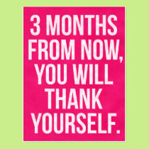 The gift rx cycling cards 3 months gymfitnessexercise motivation postcard m4hsunfo