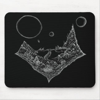 3 moons mouse pad