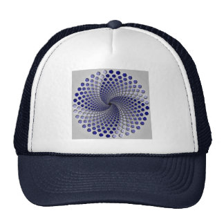 3 Moving Patterns Optical Illusion-2 Trucker Hat