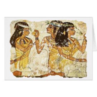 3 mujeres tarjeta de felicitación