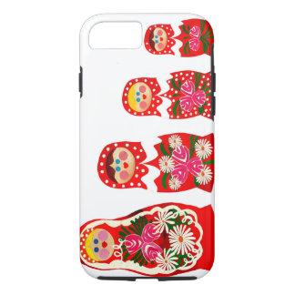 3 muñecas rusas BABUSHKA Funda iPhone 7