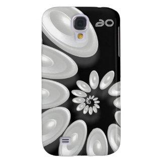 3 - Music Vortex 3 black Galaxy S4 Cover